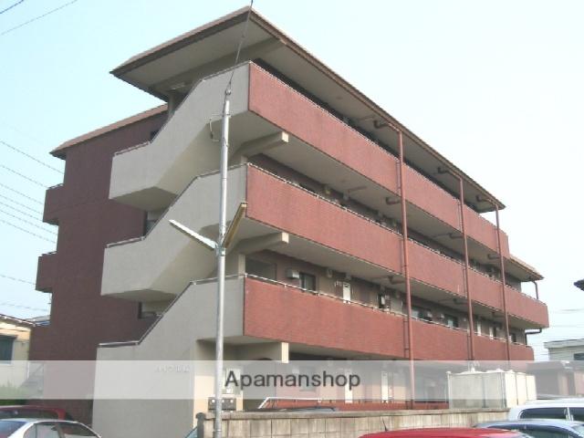 山梨県甲府市、甲府駅徒歩10分の築32年 4階建の賃貸アパート