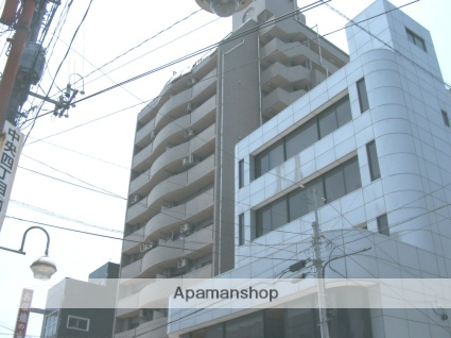 山梨県甲府市、甲府駅徒歩14分の築23年 14階建の賃貸マンション