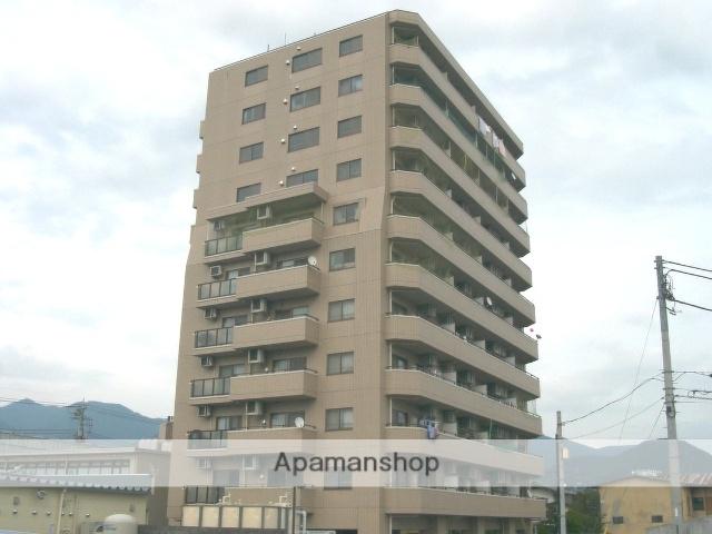山梨県甲府市、甲府駅徒歩21分の築21年 11階建の賃貸マンション