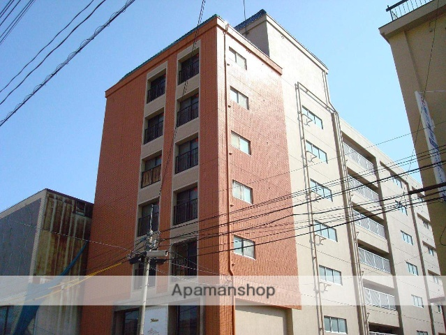 山梨県甲府市、甲府駅徒歩15分の築28年 7階建の賃貸マンション