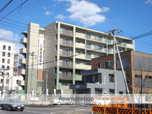 山梨県甲府市、甲府駅徒歩4分の築8年 7階建の賃貸マンション