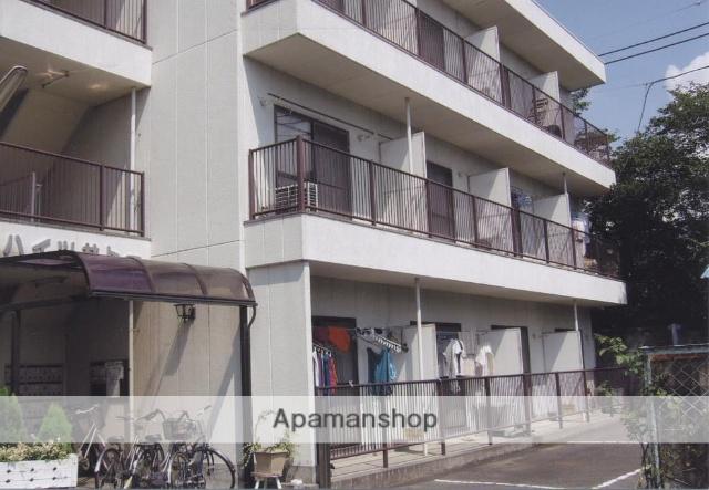 山梨県甲府市の築27年 3階建の賃貸アパート