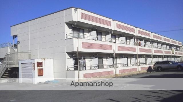 山梨県中巨摩郡昭和町、小井川駅徒歩22分の築21年 2階建の賃貸アパート