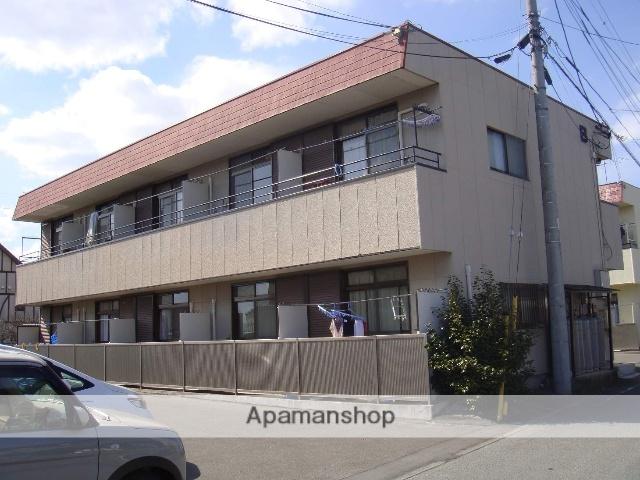 山梨県中巨摩郡昭和町、常永駅徒歩3分の築28年 2階建の賃貸アパート