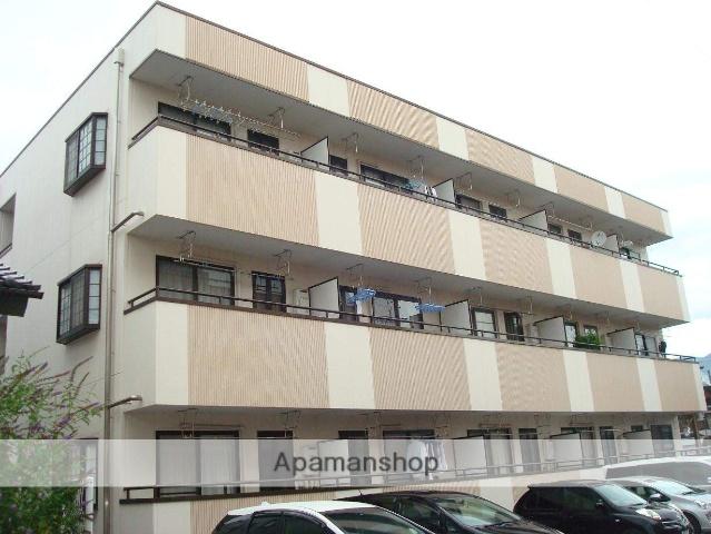 山梨県甲府市、甲府駅徒歩21分の築20年 3階建の賃貸マンション
