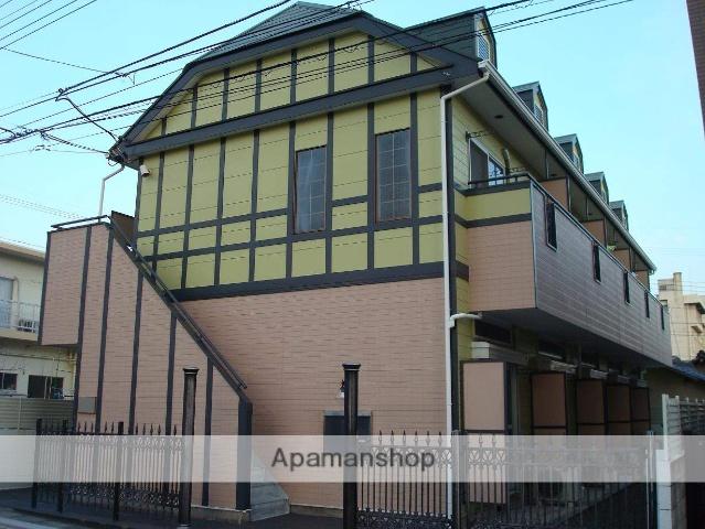 山梨県甲府市、甲府駅徒歩15分の築24年 2階建の賃貸アパート