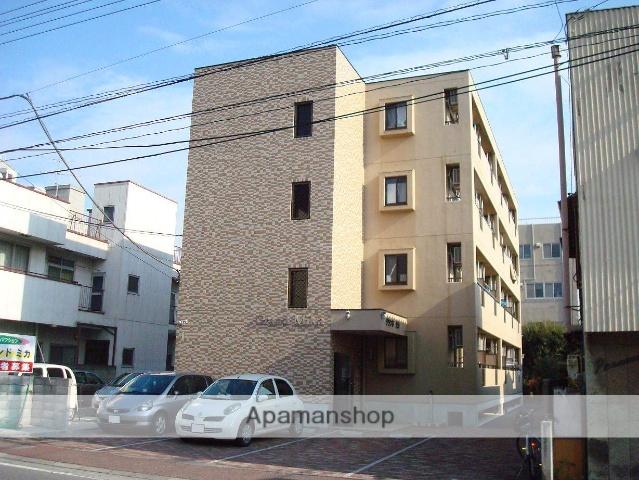 山梨県甲府市、甲府駅徒歩15分の築17年 4階建の賃貸マンション