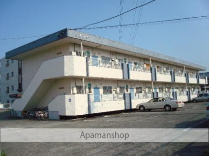 山梨県甲府市の築40年 2階建の賃貸マンション