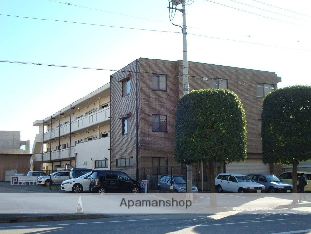 山梨県甲府市、善光寺駅徒歩14分の築20年 3階建の賃貸マンション