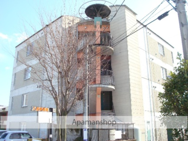 山梨県南アルプス市の築22年 4階建の賃貸マンション