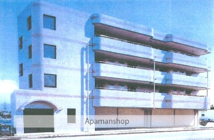 山梨県甲府市の築23年 4階建の賃貸マンション