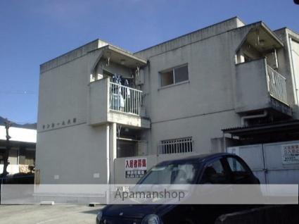 山梨県甲府市、甲府駅徒歩33分の築33年 2階建の賃貸マンション