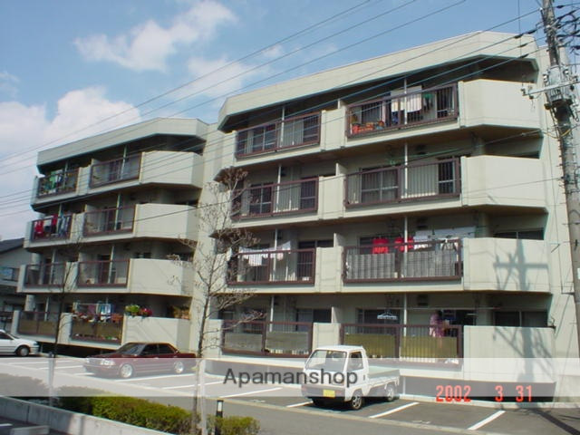 山梨県甲府市の築30年 4階建の賃貸マンション