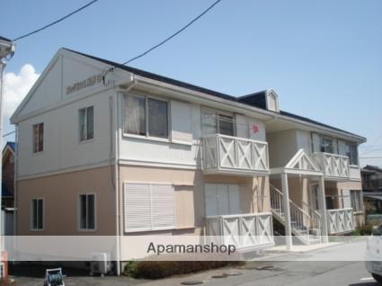 山梨県笛吹市、南甲府駅徒歩26分の築25年 2階建の賃貸アパート