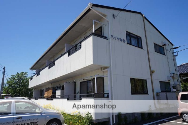 山梨県中央市、小井川駅徒歩25分の築28年 2階建の賃貸アパート