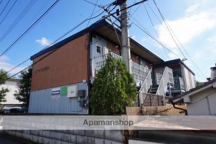 山梨県甲府市、甲府駅徒歩13分の築36年 2階建の賃貸アパート