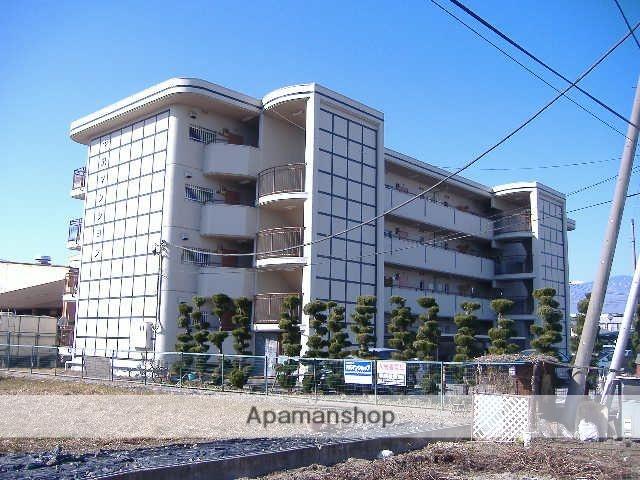 山梨県甲府市、国母駅徒歩16分の築28年 4階建の賃貸マンション