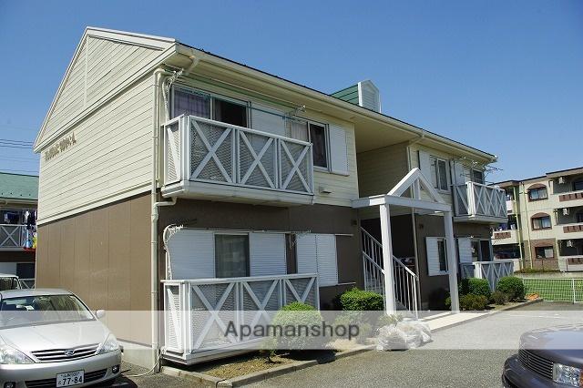 山梨県甲府市、国母駅徒歩19分の築25年 2階建の賃貸アパート