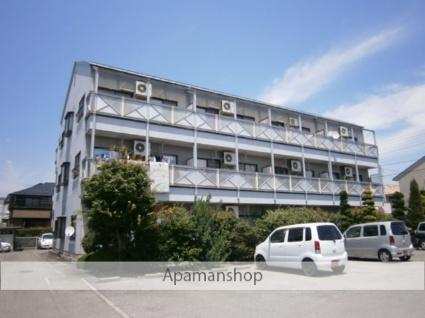山梨県甲府市、竜王駅徒歩30分の築23年 3階建の賃貸アパート