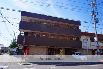 山梨県甲府市、甲府駅徒歩36分の築30年 3階建の賃貸アパート