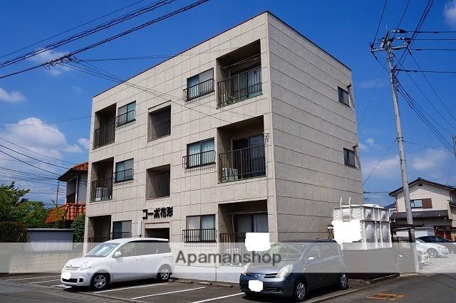 山梨県中巨摩郡昭和町、国母駅徒歩22分の築33年 3階建の賃貸アパート