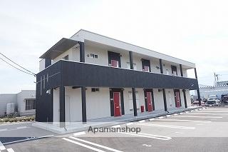 山梨県中巨摩郡昭和町、常永駅徒歩19分の築2年 2階建の賃貸アパート