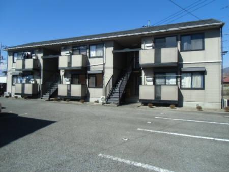 山梨県笛吹市、酒折駅徒歩43分の築19年 2階建の賃貸アパート