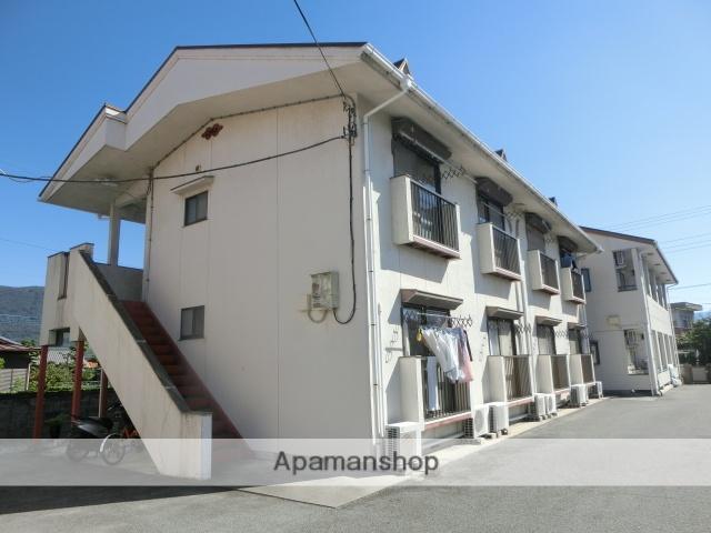 山梨県甲府市、酒折駅徒歩16分の築30年 2階建の賃貸アパート