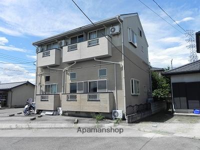 山梨県甲斐市、竜王駅徒歩11分の築22年 2階建の賃貸アパート
