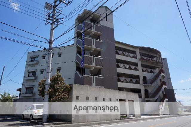 山梨県南アルプス市、小井川駅徒歩89分の築25年 5階建の賃貸マンション