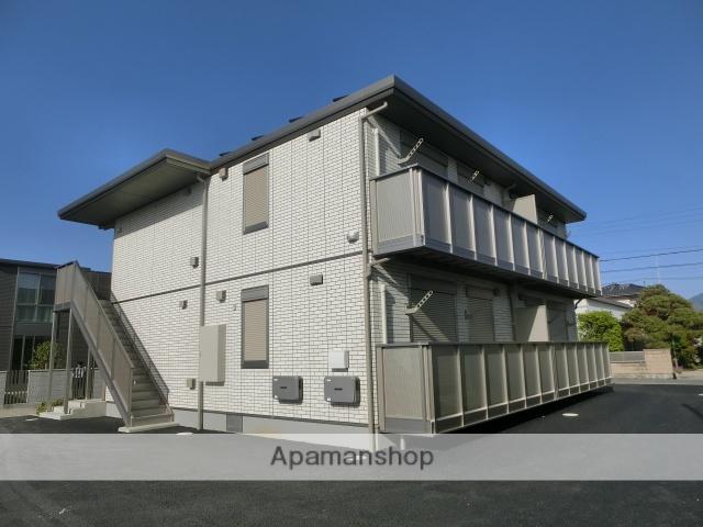 山梨県笛吹市、石和温泉駅徒歩28分の新築 2階建の賃貸アパート