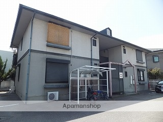山梨県甲斐市、竜王駅徒歩10分の築22年 2階建の賃貸アパート