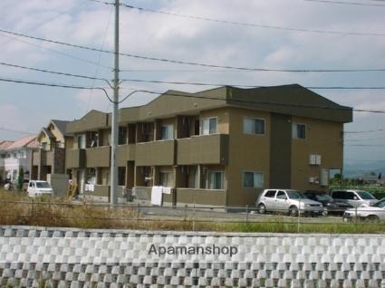 山梨県笛吹市の築13年 2階建の賃貸アパート