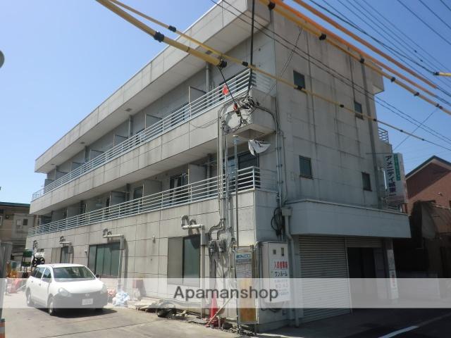 山梨県甲府市、酒折駅徒歩15分の築26年 3階建の賃貸アパート