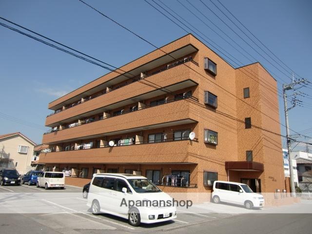 山梨県甲府市、国母駅徒歩8分の築26年 4階建の賃貸マンション