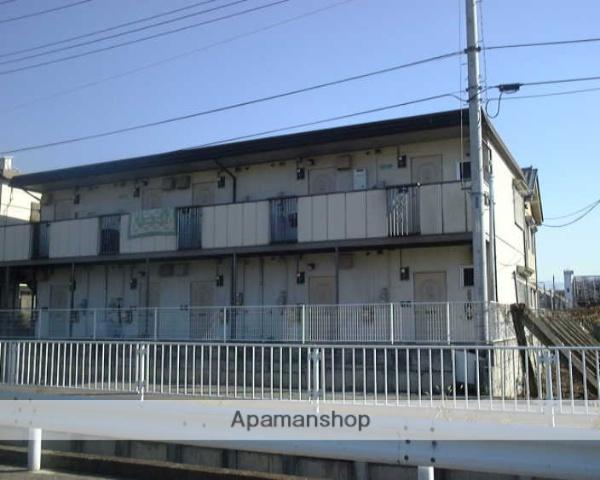 山梨県甲府市、善光寺駅徒歩15分の築29年 2階建の賃貸アパート