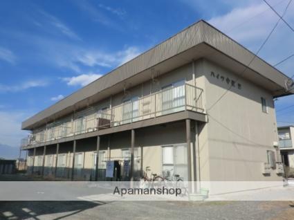 山梨県甲府市の築36年 2階建の賃貸アパート