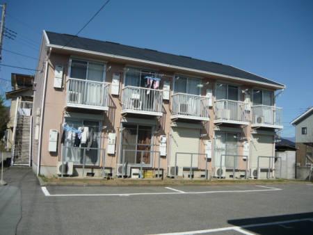 山梨県甲府市、南甲府駅徒歩21分の築25年 2階建の賃貸アパート