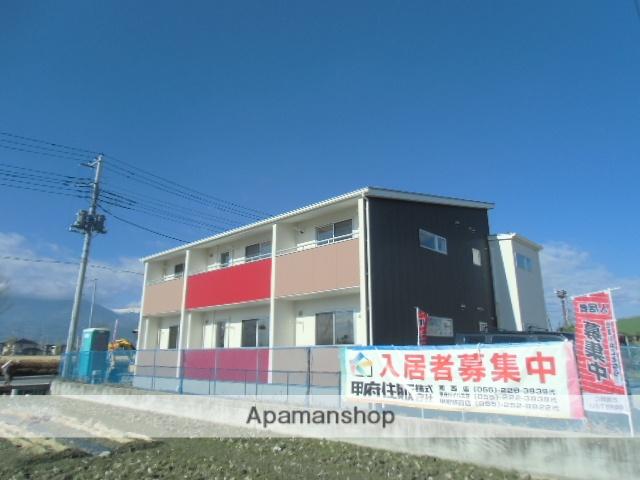 山梨県中巨摩郡昭和町、小井川駅徒歩19分の新築 2階建の賃貸アパート