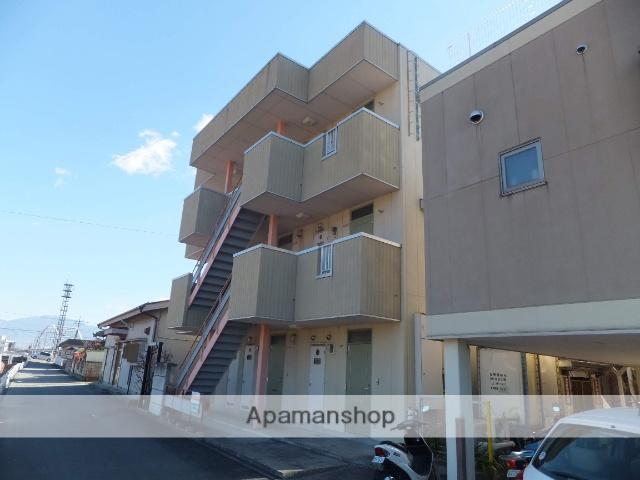 山梨県甲府市、酒折駅徒歩15分の築20年 3階建の賃貸アパート