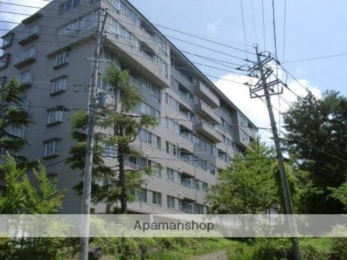 山梨県南都留郡忍野村、富士山駅徒歩40分の築26年 8階建の賃貸マンション