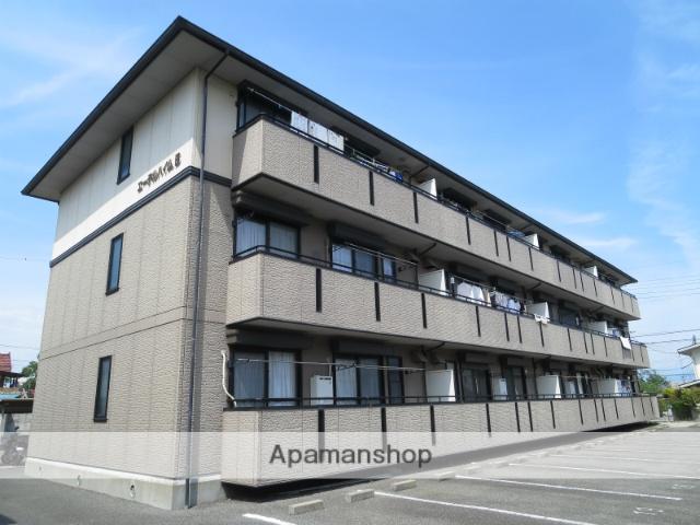 山梨県中央市、小井川駅徒歩14分の築20年 3階建の賃貸アパート