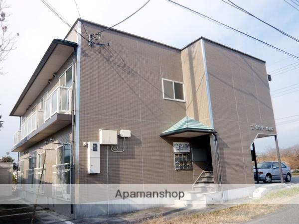 山梨県中巨摩郡昭和町、東花輪駅徒歩45分の築17年 2階建の賃貸アパート