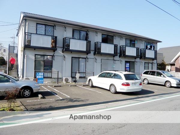 山梨県中巨摩郡昭和町、小井川駅徒歩14分の築22年 2階建の賃貸アパート