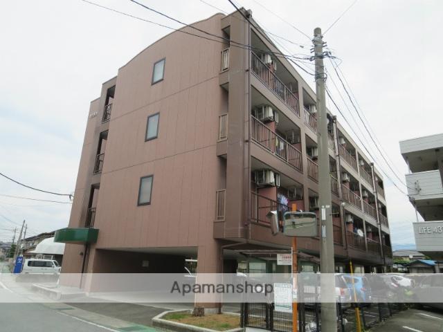 山梨県中巨摩郡昭和町、国母駅徒歩7分の築18年 4階建の賃貸マンション