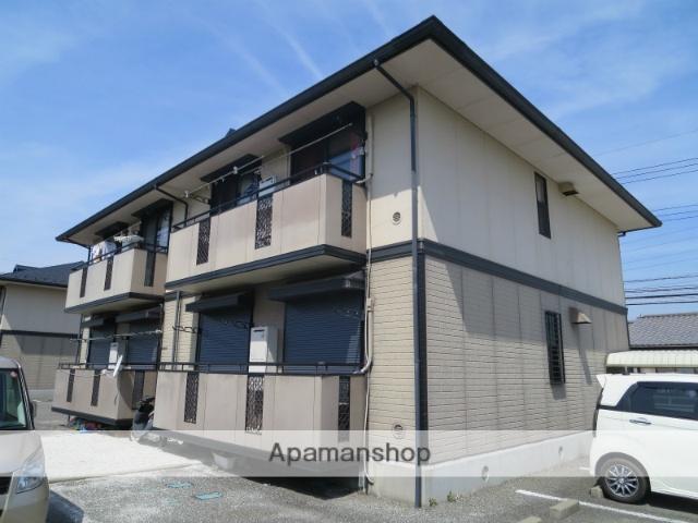 山梨県笛吹市、甲府駅バス35分河内下車後徒歩7分の築20年 2階建の賃貸アパート