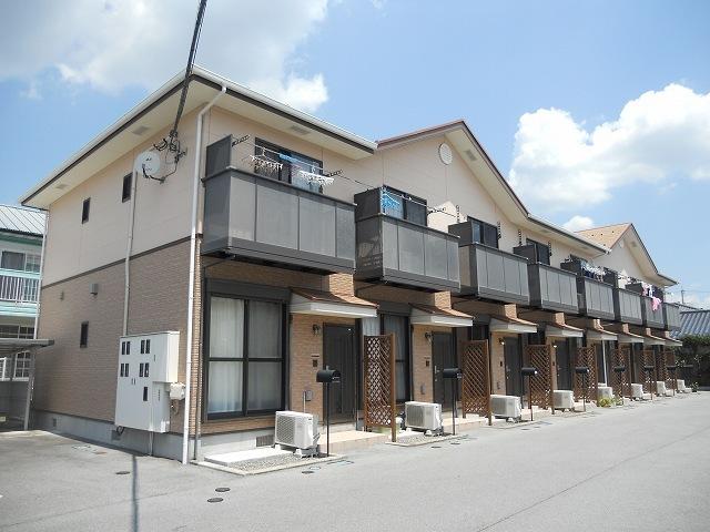 山梨県甲斐市、竜王駅徒歩29分の築10年 2階建の賃貸テラスハウス
