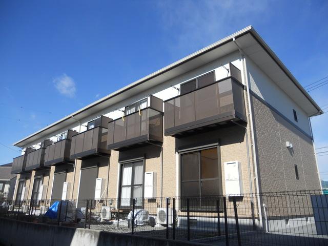 山梨県甲斐市、竜王駅徒歩37分の築9年 2階建の賃貸アパート