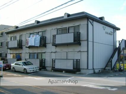 山梨県中巨摩郡昭和町、国母駅徒歩15分の築23年 2階建の賃貸アパート