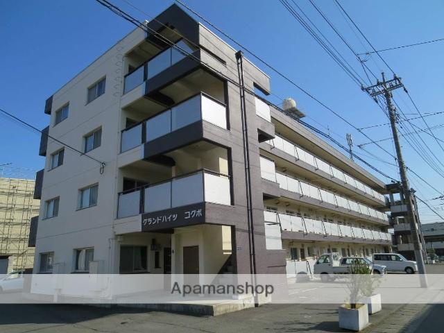 山梨県甲府市、国母駅徒歩7分の築32年 4階建の賃貸マンション